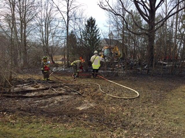 Winds whip flames at Southington barn fire - WFMJ.com News ...