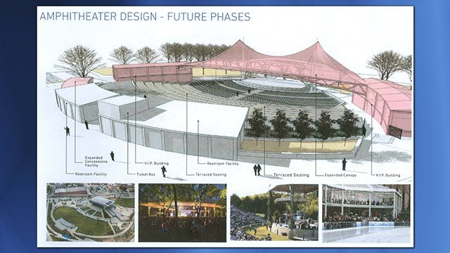 amphitheatre plan for youngstown is unveiled