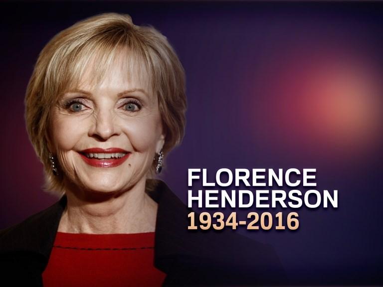 Florence Henderson 2016