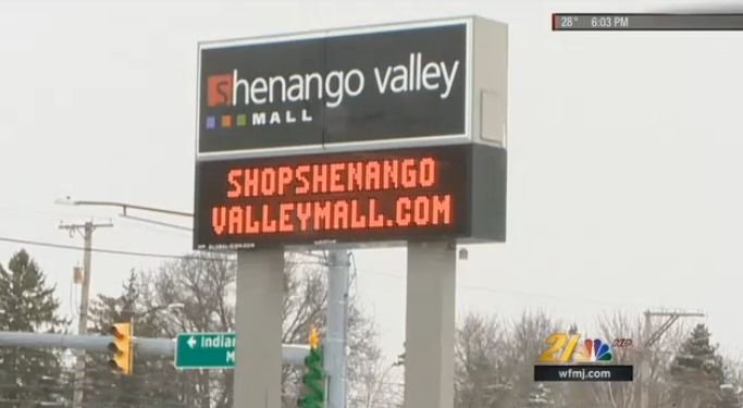 Two anchor stores in the Shenango Valley Mall are closing