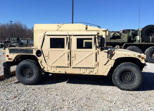 Photo is not of the stolen Humvee