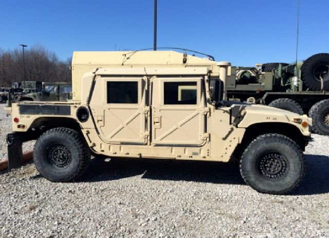 Photo is not of the stolen Humvee