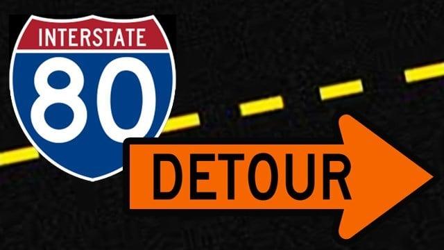 I 80 Ohio Map.Maps Show Detours For Two I 80 Ramps Closing Wfmj Com News Weather