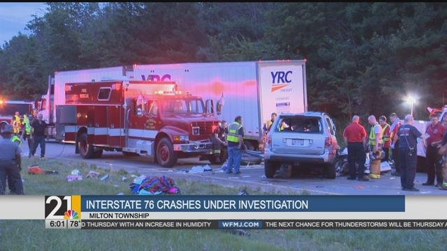 Troopers: There was advance warning of work zone before I-76 cr