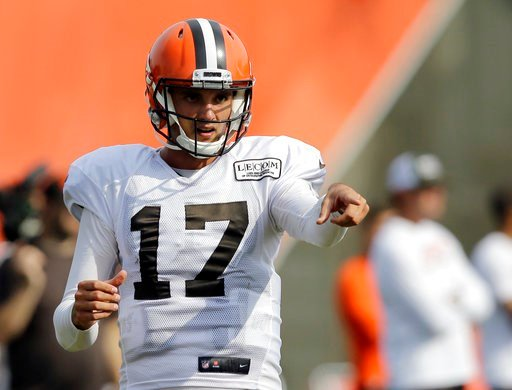 Brock Osweiler named starter for Browns preseason opener