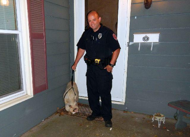 Louis and Patrolman Brandon Smith