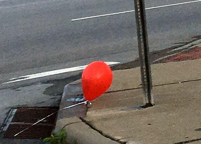 Teens clown around with balloon prank