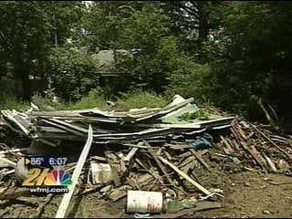 Sink hole in Youngstown backyard could be abandoned mine shaft