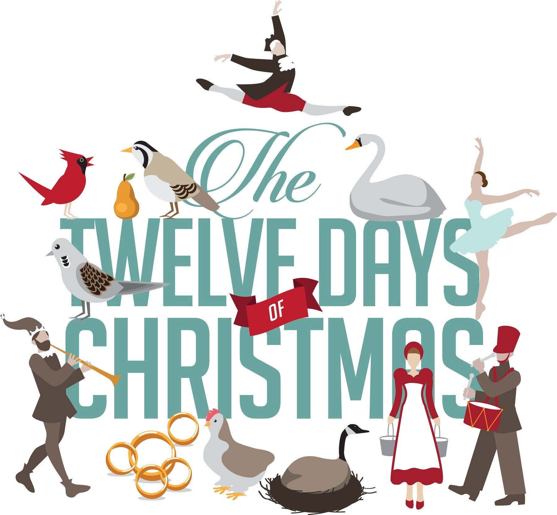 Total gifts in the twelve days of christmas song