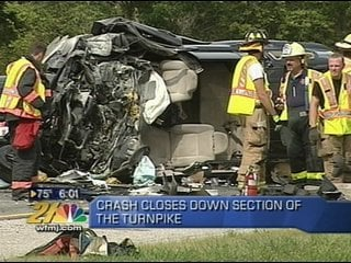 Accident closes portion of Ohio Turnpike on Saturday morning