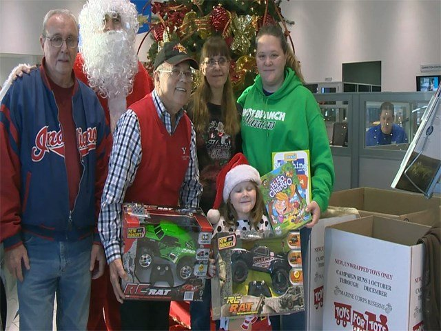Toys for Tots convey collects more than 22000 toys