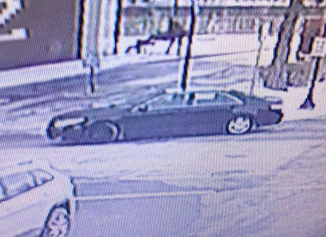 Possible suspect vehicle