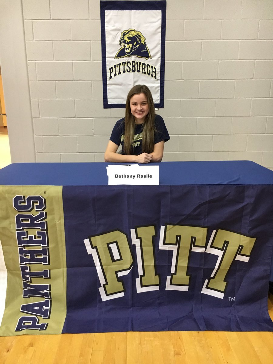 Bethany Rasile from Niles signs National Letter of Intent for soccer at the University of Pittsburgh.