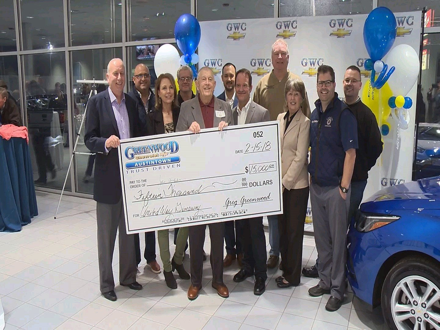Cortland Man Wins Greenwood Chevrolet Cruze Or Cash Giveaway   WFMJ.com  News Weather Sports For Youngstown Warren Ohio
