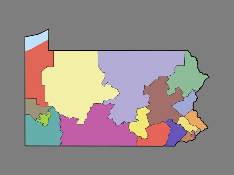 Supreme Court Keeps Pennsylvania Congressional Map in Place