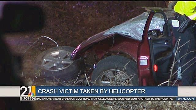 Car Crash Victims In Hospital