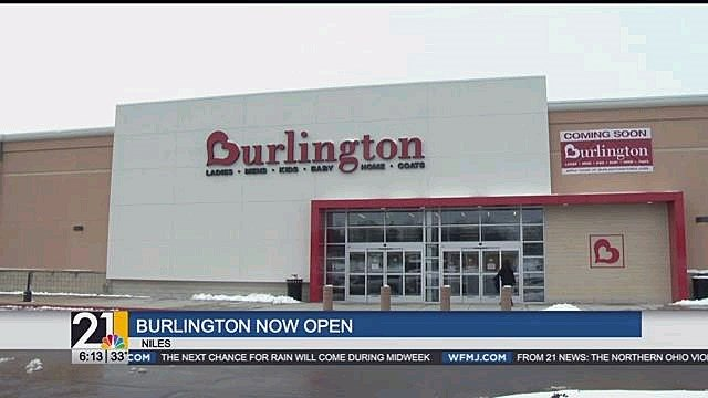 6a9205c88 The Niles Burlington s new location is now open - WFMJ.com News weather  sports for Youngstown-Warren Ohio