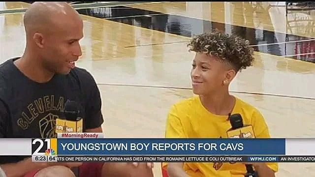 Youngstown boy gets dream job as Cavs junior sports reporter