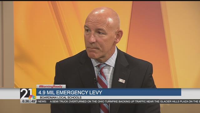 Boardman Superintendent talks about emergency levy
