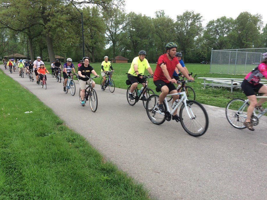 Local cyclists remind motorists to share the road
