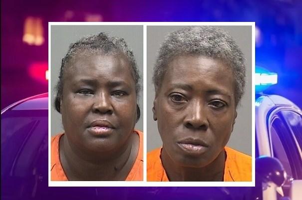Thelma Banks (L) Sandra Gray (R)
