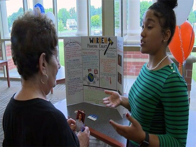Warren students showcase summer career experience - WFMJ com