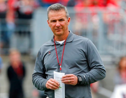Who's involved in Urban Meyer's Ohio State domestic abuse scandal?