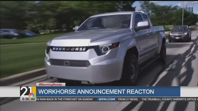 Chamber CEO Dignan on Workhorse & GM Lordstown possibilities - WFMJ