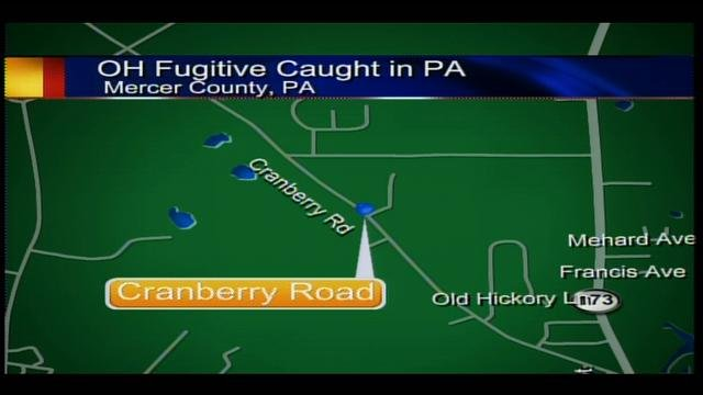 Ohio fugitive caught in Mercer County - WFMJ com News weather sports