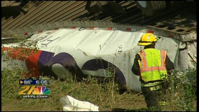 FedEx truck flips on Interstate 80 - WFMJ com News weather sports