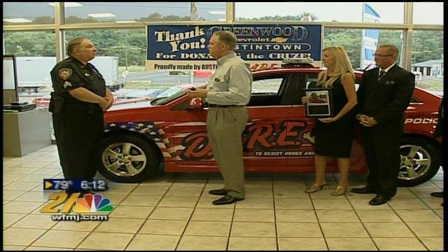 Superior Greenwood Chevrolet In Austintown Donates A Car For The Austinto   WFMJ.com  News Weather Sports For Youngstown Warren Ohio