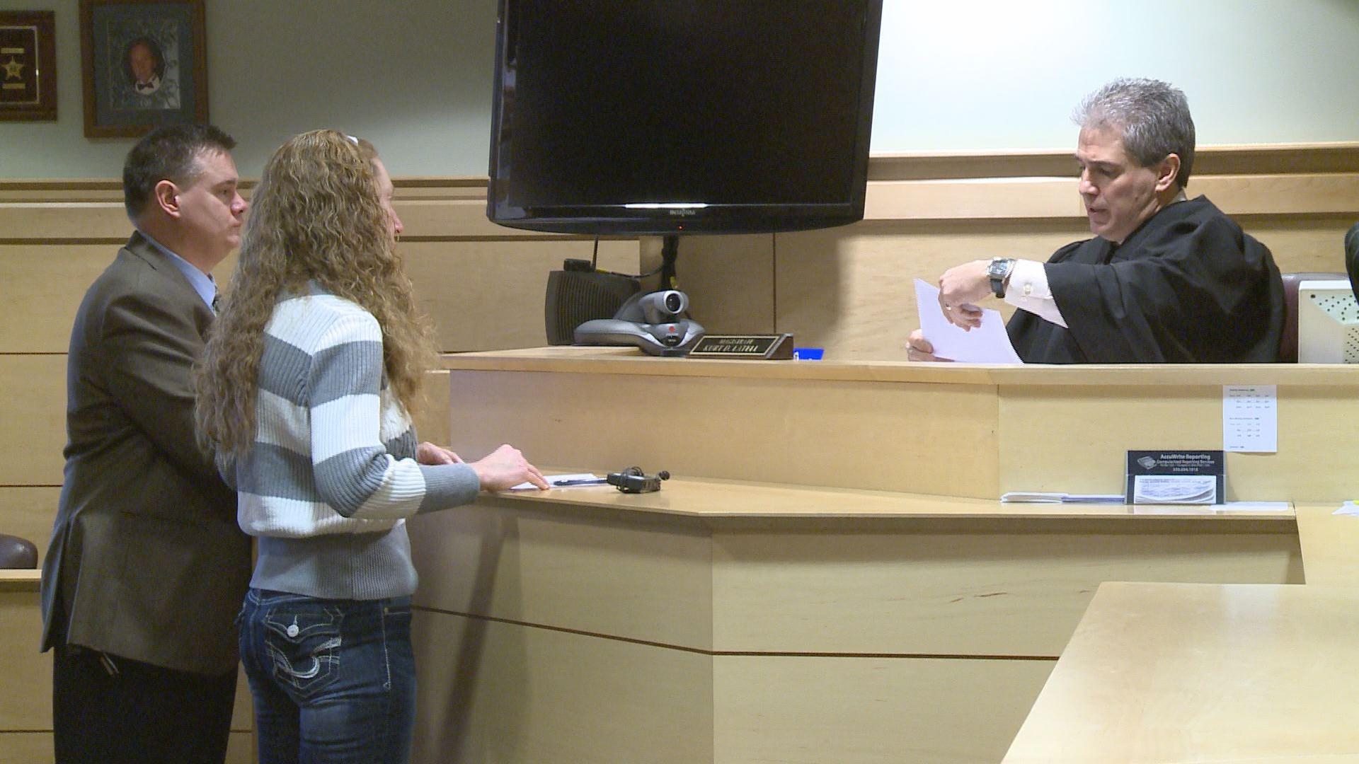 Patricia Micochero in Girard Municipal Court