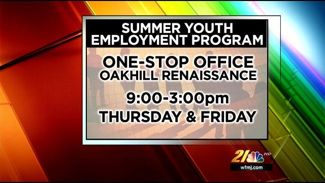 youth employment program taking applications wfmj com news weather