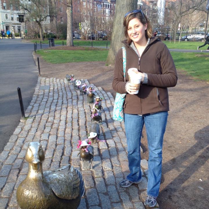 Former Ellsworth resident Tekla Rosalia now lives in Cambridge, Mass.