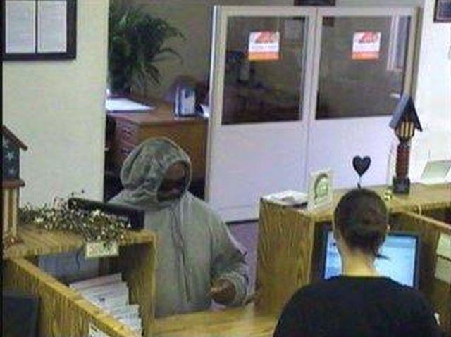 Bank surveillance photo