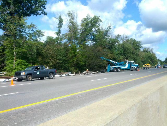 Ohio Turnpike reopens after two truck crash near Warren - WFMJ com