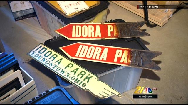 Canfield man builds idora park museum news weather sports for youngstown warren ohio for Parks garden center canfield ohio