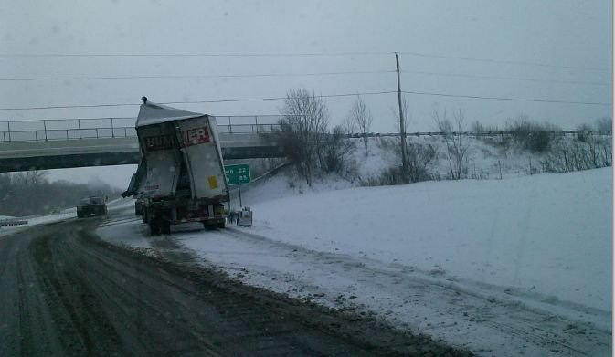 White out conditions on I-76 lead to multi-vehicle crash