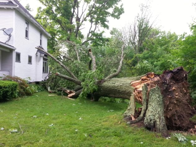 Damage in Hubbard