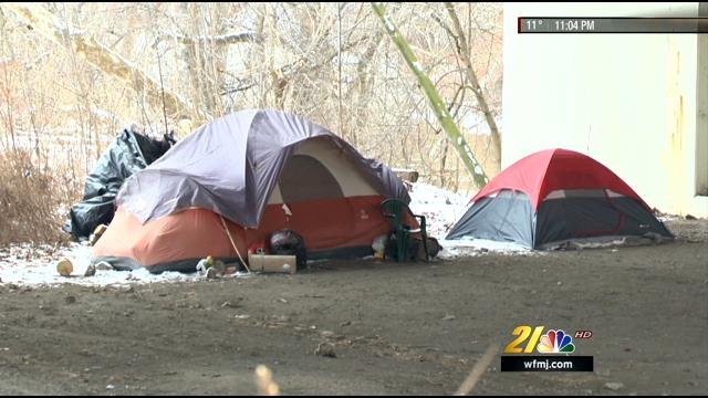 """Bridge Street Auto >> Youngstown homeless endure freezing temperatures at """"Tent City"""" - WFMJ.com News weather sports ..."""