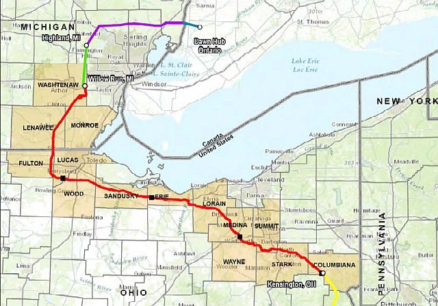 Proposed Pipeline Route