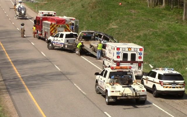 Four injured on I-79 crash in Mercer County - WFMJ com News weather