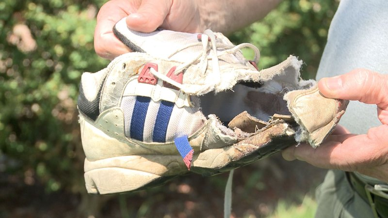 Lawn Mower Foot : Austintown man has permanent reminder about lawnmower