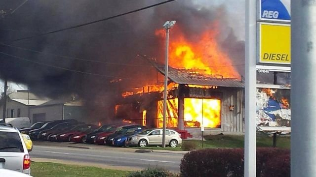 Fire Breaks Out At Alliance Car Dealership Wfmj Com News