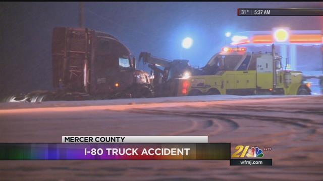 Mercer PennDOT asks motorist to stay off I-80 during storm - WFMJ