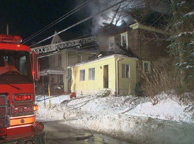Liberty Street fire