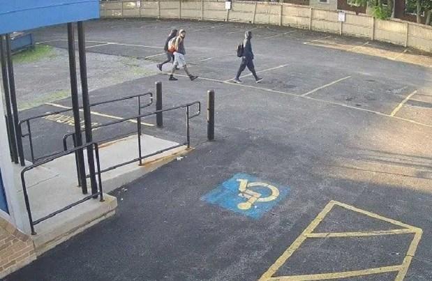 Surveillance photo of suspects