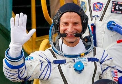 U.S. astronaut Andrew Morgan - AP Photo/Dmitri Lovetsky, Poo