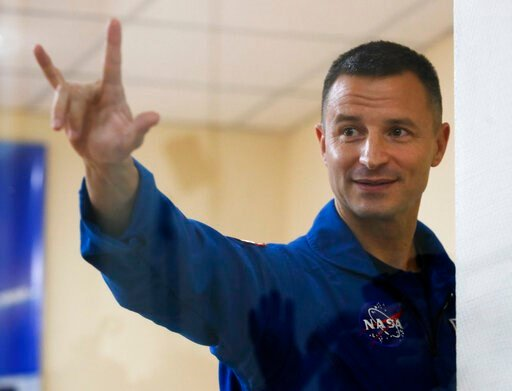 U.S. astronaut Andrew Morgan - AP Photo/Dmitri Lovetsky