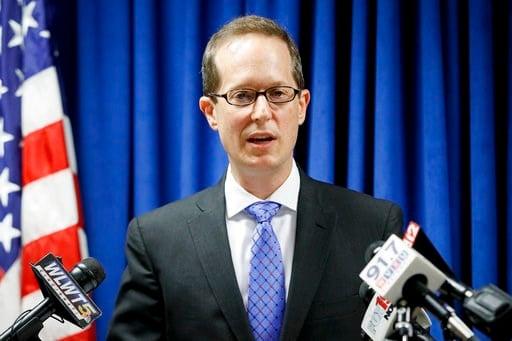 U.S. Attorney Benjamin C. Glassman - AP Photo/John Minchillo